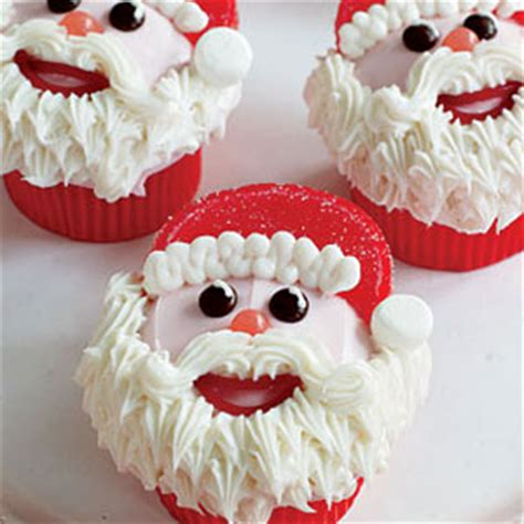 Clus Lg best santa hat cupcake recipe delish