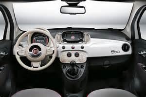 Fiat 500 White Interior 2016 Interior Fiat 500 White Design All About Gallery Car