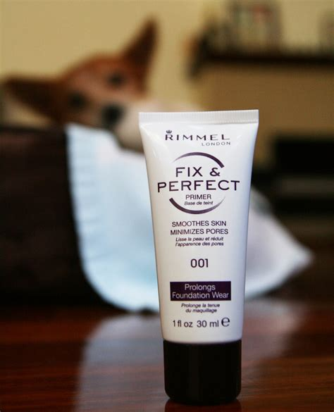 Rimmel Fix And Primer it s all peachy with rimmel s fix and primer