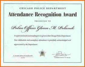 monthly perfect attendance certificate best certificate
