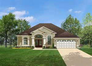 Florida Style House Plans by Florida Style House Plans 1623 Square Foot Home 1