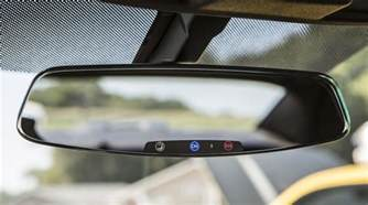 Mercedes Onstar 2013 Chevy Camaro Gets Frameless Rear View Mirror In
