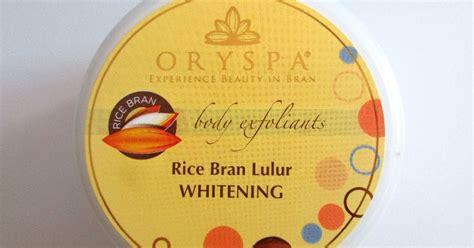 Lulur Scrub Walet lucky citrine oryspa rice bran lulur whitening scrub