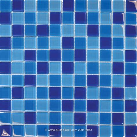 blue mosaic tile blue chroma mosaic