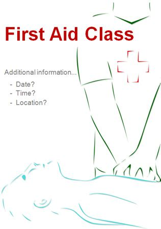 editable first aid poster free early years primary