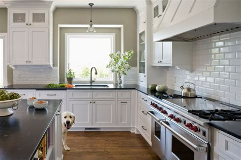 classic white kitchen inspired by something s gotta give