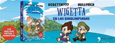 wigetta en las dinolimpiadas wigetta en las dinolimpiadas vegetta777 willyrex libro u s 8 99 en mercado libre