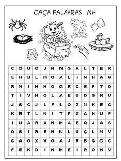 47 ideias de Sopas de letras   caça-palavras, palavras