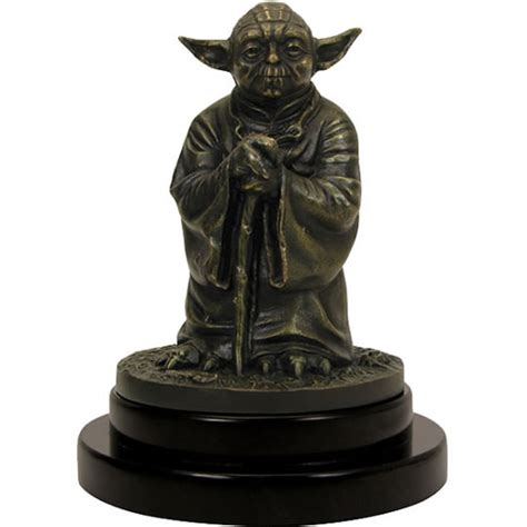 Finder 75 Bronze Limited Edition limited edition solid bronze yoda statue