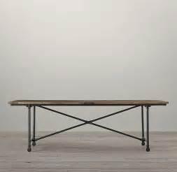delightful Restoration Hardware Flatiron Table #1: RestorationHardwareFlatiron.jpg