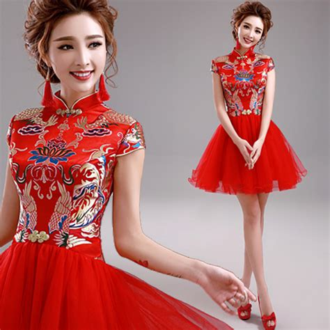 Baju Cheongsam Modern Sale cheongsam qipao traditional dress embroidery