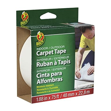 duck hold it for rugs duck brand 519244 hold it adhesive for rugs 2 5 inch x 25 single roll theofficepanda