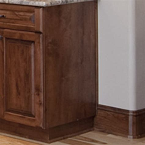 kitchen cabinet finished end panels finished ends aura cabinetry building quality kitchen