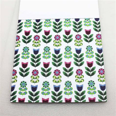 Decorative Craft Paper - colorful scrapbooking paper pack set tree flower