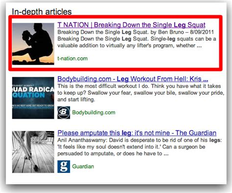 In Depth Search In Depth Articles Search Results Look And Reactions