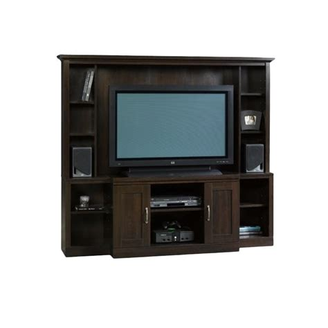 living room entertainment furniture entertainment center in cinnamon cherry 403932