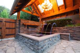Backyard Grotto Tub Gazebo