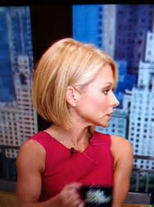 kelly ripa s new short hair hair styles pinterest