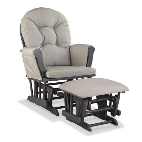 gray and white glider and ottoman custom glider and ottoman in gray and taupe 06550 616g