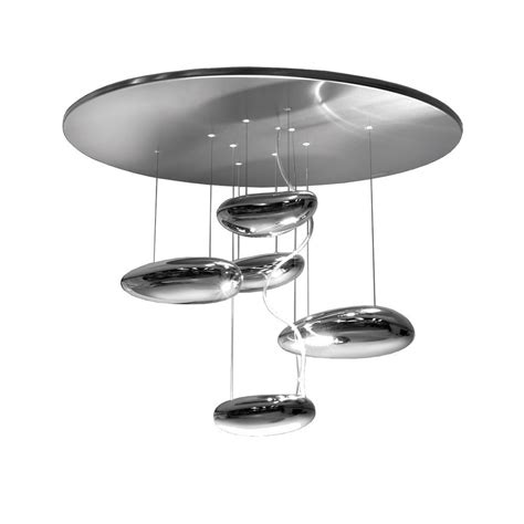 artemide mercury mini ceiling light halogen led arredare