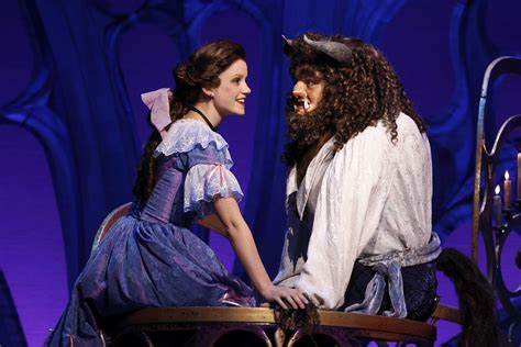 beauty and the beast the original broadway musical sue s vues more than a movie beauty and the beast at the