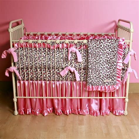 Leopard Print Crib Set by Pink Leopard Print Crib Bedding 1000 Ideas About Cheetah
