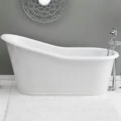 our 58 inch bathtub is made of cast iron