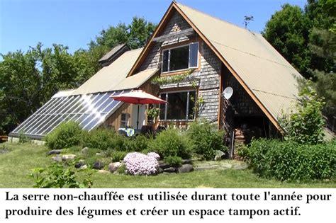 serre maison serres solaires passives int 233 gr 233 es 224 la maison