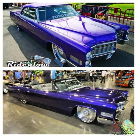 Gray Interior Paint 1966 Cadillac Deville Convertible Custom Show Tv Car With