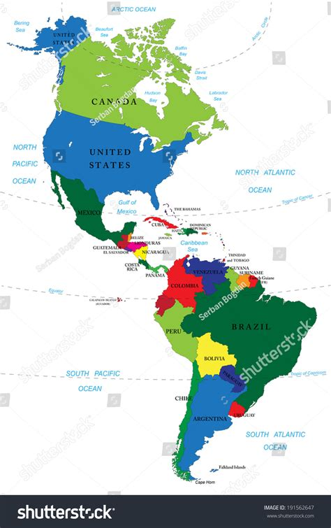 map of north america and south america roundtripticket me