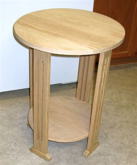 stickley style end table by dalemaley lumberjocks