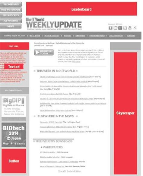 Clinical Trial Newsletter Template Newsletter Sle And Ad Specs