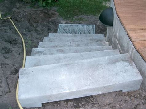 treppe bauen garten 3621 das aquapool schwimmbad forum intex wood grain