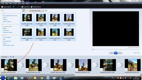 cara membuat tulisan video movie maker cara membuat video dari foto menggunakan windows movie