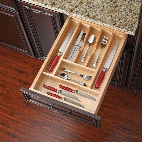 Kitchen Drawer Utensil Inserts by Best 25 Cutlery Drawer Insert Ideas On Utensil Storage Silverware Drawer Organizer