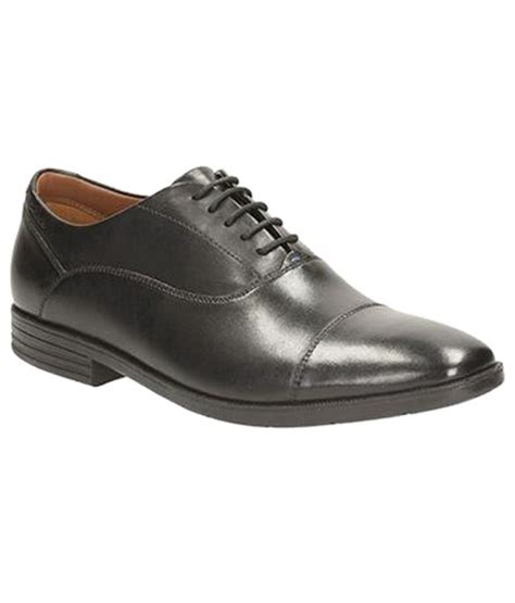 clarks comfortable black formal shoes price in india buy