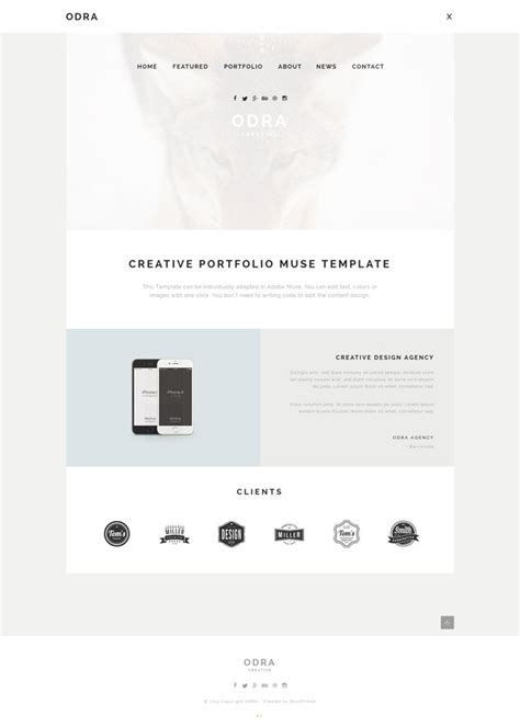 15 easy to use muse templates