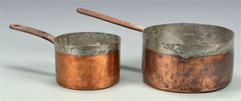 lot 639 5 european copper kitchen items
