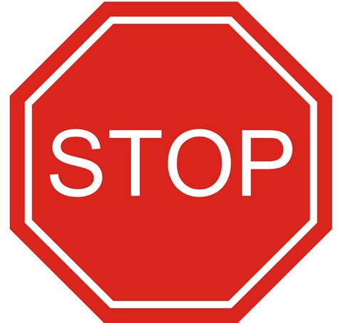 Blank Stop Sign Clip Free by Blank Stop Sign Clip Stop Sign Clip Magic