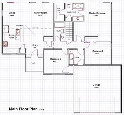 floor plans 100 house plans open floor 51 unique open floor plans