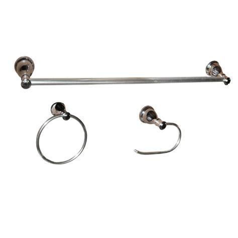 bathroom accessory kit design house allante 4 bathroom accessory kit in