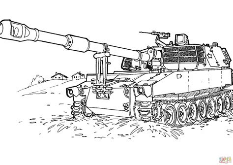 pin army tank coloring pages 6 on pinterest