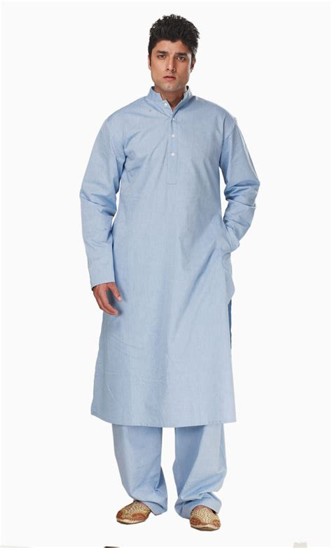 islamic clothing for men fadil kurta set blue shop at discount price islamic clothing