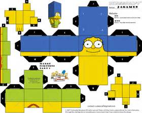 40 Page Essay On The Simpsons by Marge Simpsons Part 1 Cubeecraft By Jagamen Deviantart On Deviantart Paper