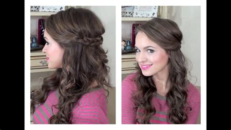 simple   hairstyle  bridesmaids hairstyles youtube