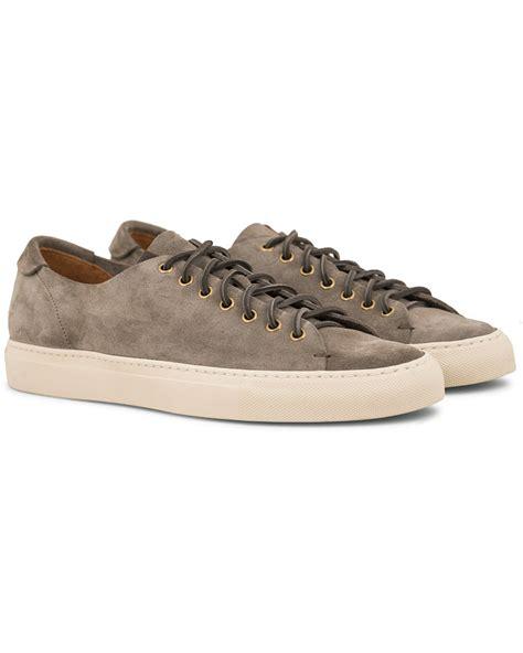Sneakers Grey buttero suede sneaker grey hos careofcarl