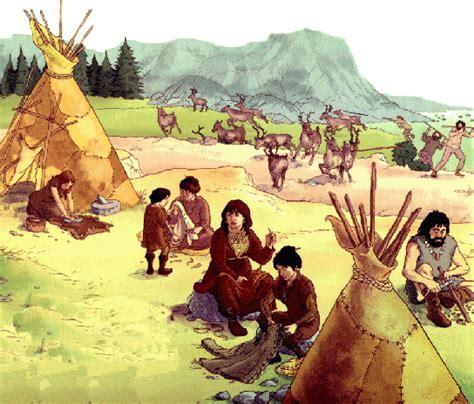 alimentazione nel paleolitico uomini primitivi abitazioni scoperte lavoro