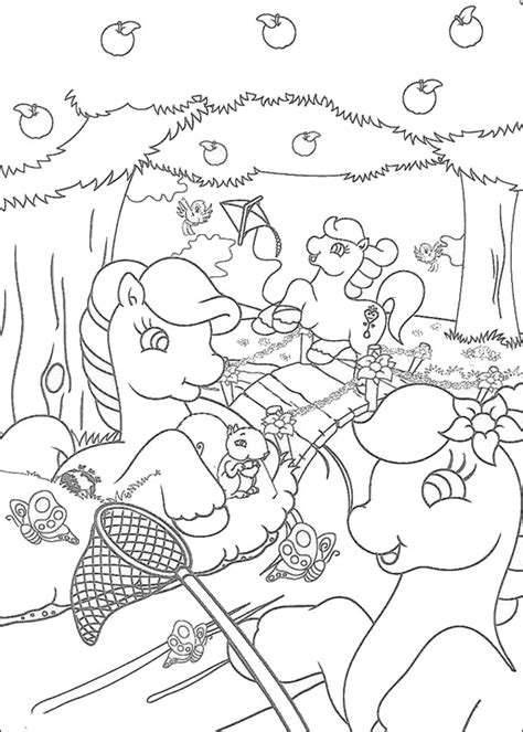 hello pony coloring pages ponies catching butterflies coloring pages hellokids com