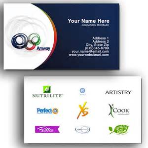 amway business cards design business card template 187 amway business card template