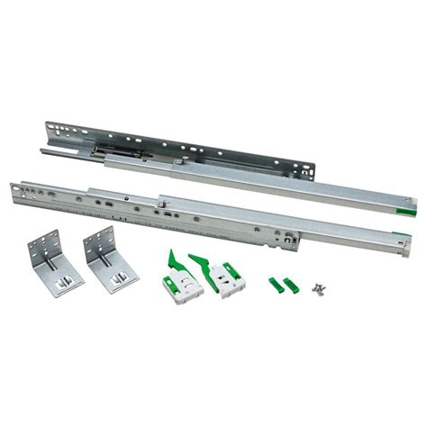 under cabinet drawer slides liberty face frame slide kit 2 pack d806sec w d the